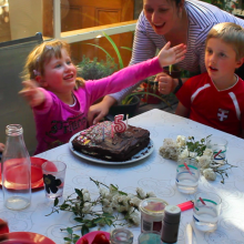 My five years birthday - December 2013
