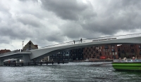 The new bike bridge in Copenhagen