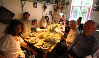 Dinner at Gunhild's place
