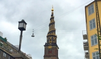 Famous tower in Copenhagen